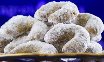 Vanilin kiflice - galletas de vainilla